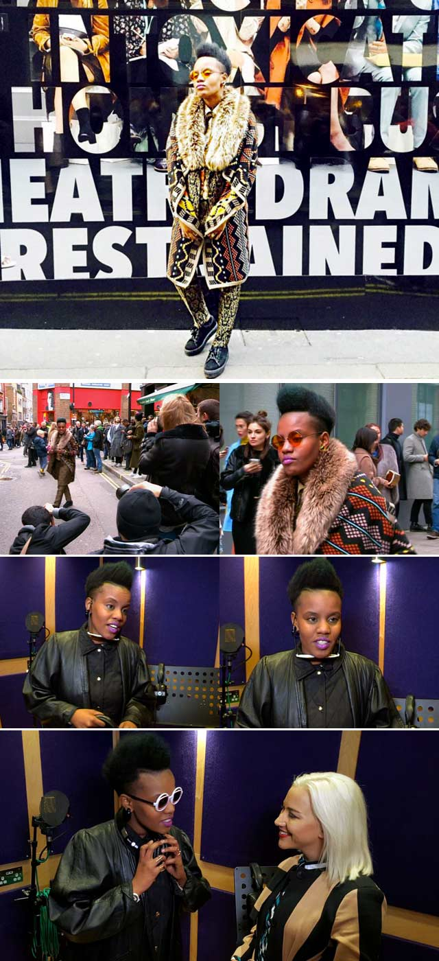 Top Billing interviews Toya deLazy in London