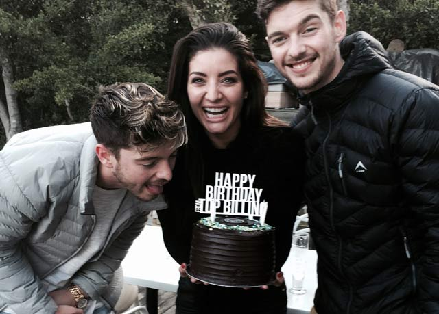 Locnville party like it's their birthday on Top Billing