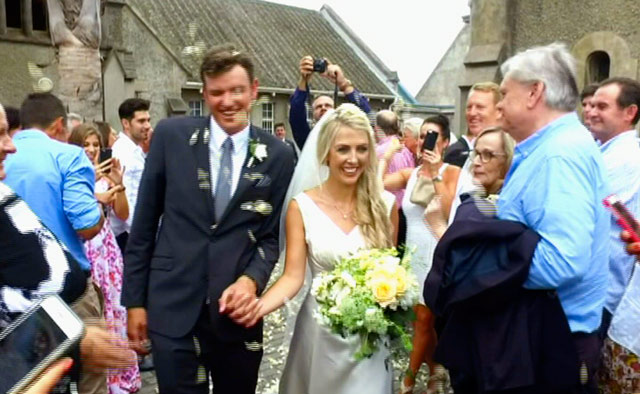 Top Billing features the spectacular wedding of golfer Jake Redman and Disi Fensham 2