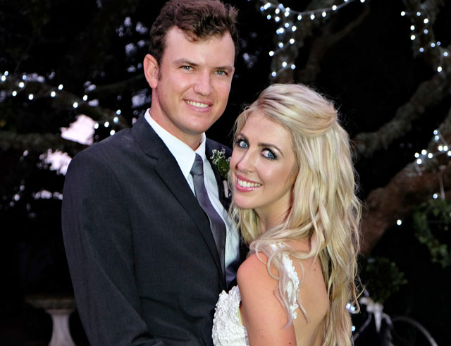 Top Billing features the spectacular wedding of golfer Jake Redman and Disi Fensham
