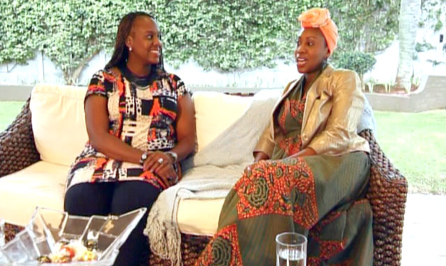 Maimoona Omuabor and Hafsa Salim on Top Billing 4