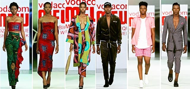 Mozambique fashion week on Top Billing 2
