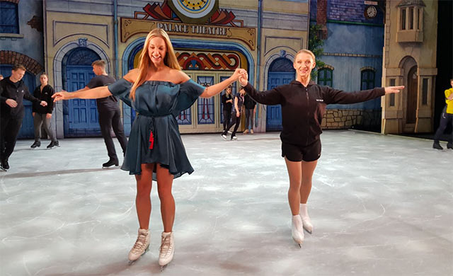 Cinderella on Ice on Top billing