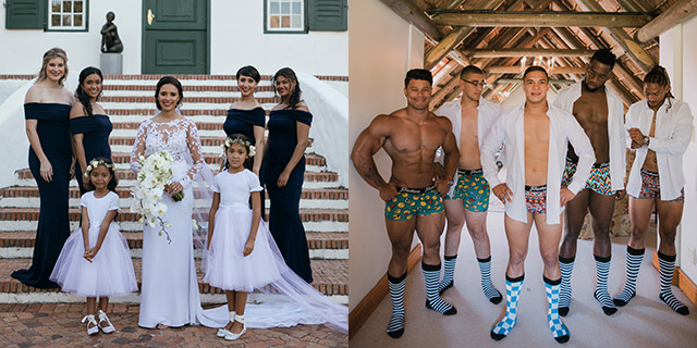 Cheslin Kolbe wedding on Top Billing 5