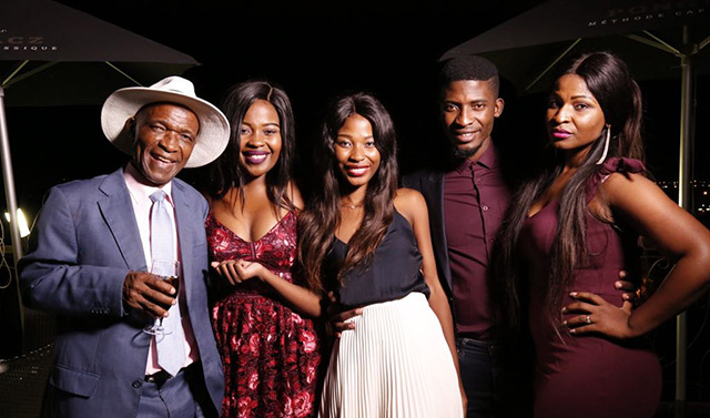 Top Billing features Karabo Mogane and his family
