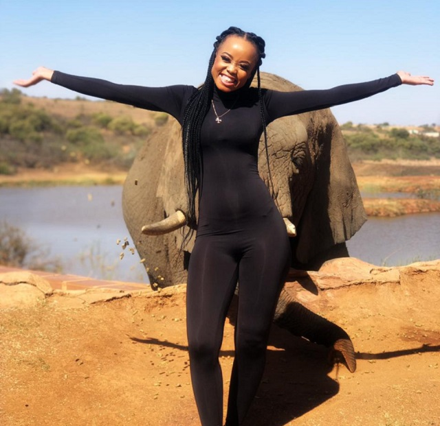 Ntando Duma and Mr Elephant