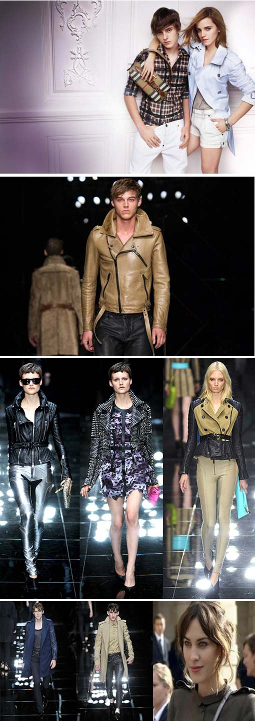 Top Billing visits London Fashion Week to see Burberry 2011 collection