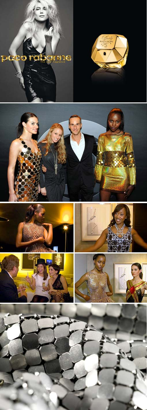 Top Biilling attends the Paco Rabanne fragrance launch of Lady Million