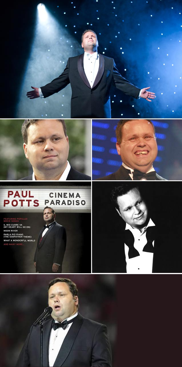 Top Billing interviews celebrity singer and Britains got talent winner Paul Potts