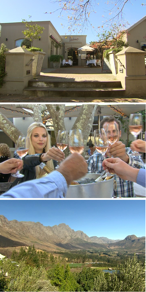 Topbilling Franschoek Story,beautiful scenery,Amazing Food