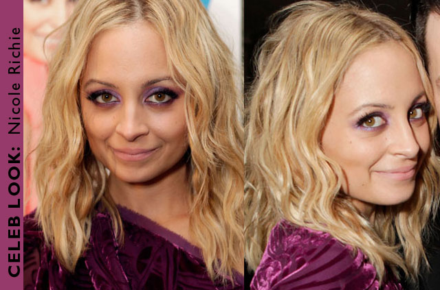 Celebrity beauty look Nicole Richie
