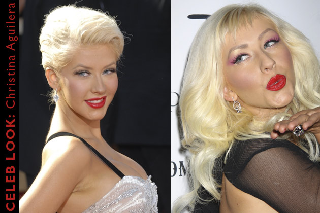 celebrity look, Top Billing explains how to diy Christina Aguilera's red lip