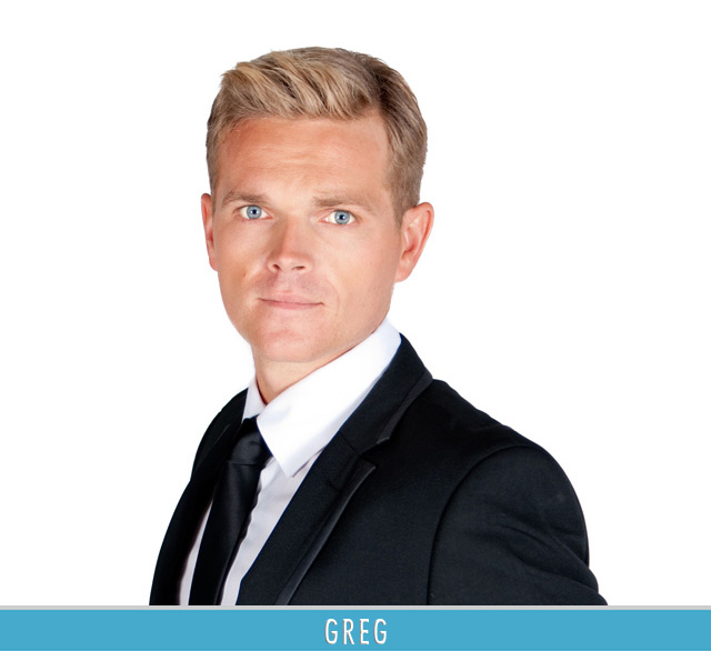 My Top Billing Dream Reality Show contestant Greg