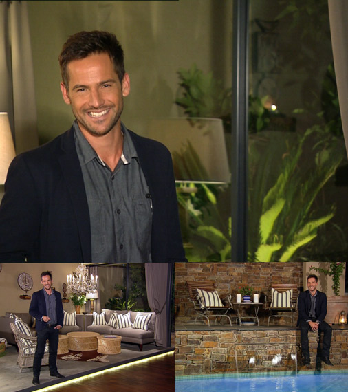 Top Billing presenter Janez Vermeiren Links Outfit 28 October 2010
