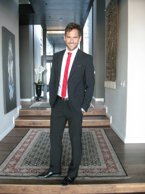 Top Billing presenter Janez Vermeiren