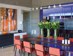 A quirky Sandton home