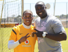 Behind the scenes with the Kaizer Chiefs