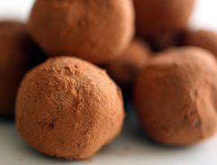 Chocolate and Champagne Truffles
