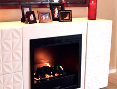 DIY: Boxed Gas Fireplace