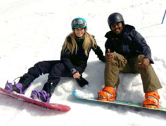 Mojozi conquers the snow at Afriski