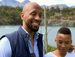 Phat Joe and son take on the Impi Challenge with Top Billing
