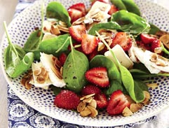 Strawberry and Brie salad