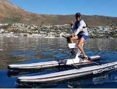 Top Billing enjoys the fun activities on offer in the False Bay area