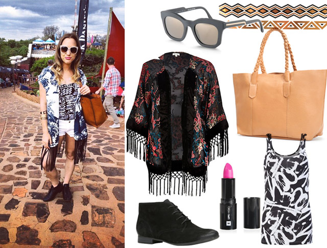 Get Roxy Burgers casual chic festival look