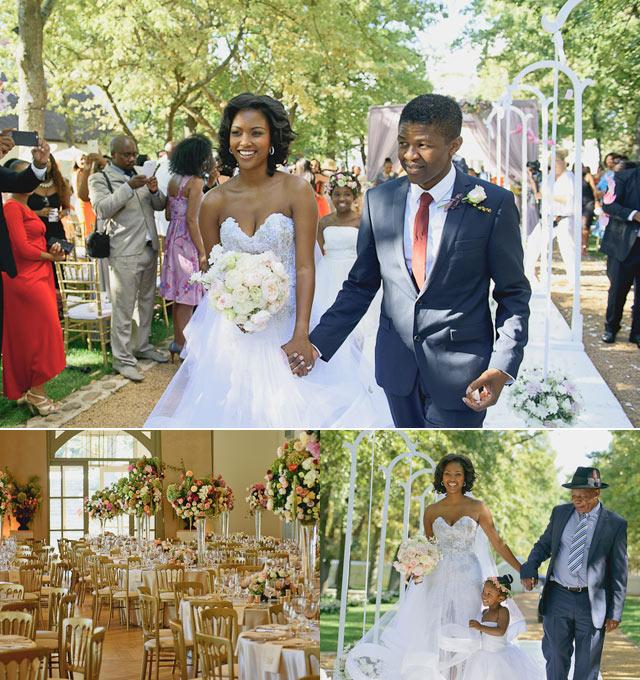 model rosette mogomotsi and lunga ncwana tie the knot on