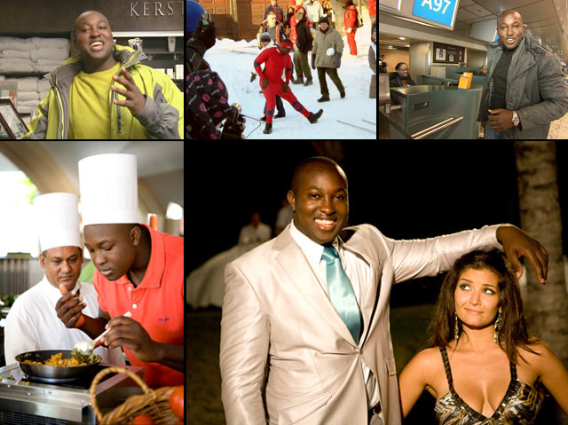 Behind the scenes with Top Billing presenter Simba Mhere